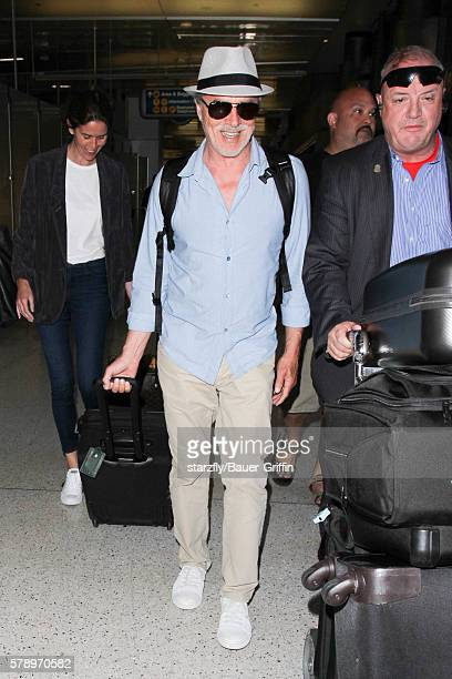 Don Johnson is seen at LAX on July 22 2016 in Los Angeles California