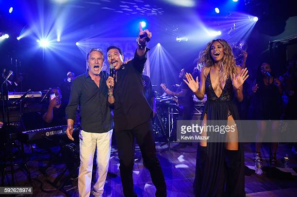Don Johnson Lionel Richie and Ciara perform at Apollo in the Hamptons 2016 at The Creeks on August 20 2016 in East Hampton New York