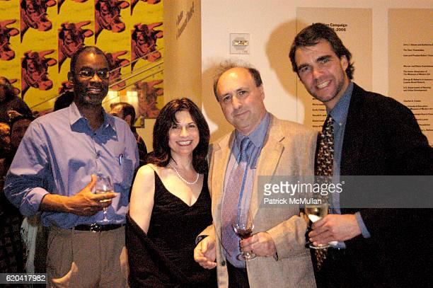 Don Jones Irene Fischer Nick Fischer and Scott Holland attend Launch Of The Retrospective ZeitgeistThe FIlms Of Our Time at Moma on June 27 2008 in...