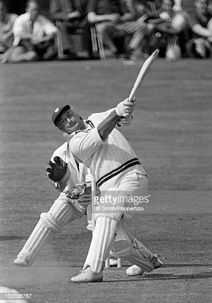 Don Kenyon batting for Worcestershire circa 1965