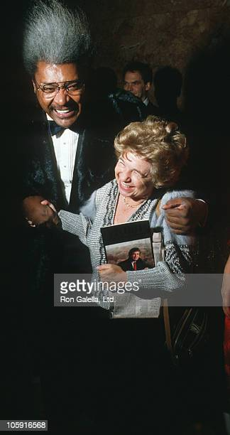 """Don King and Dr. Ruth Westheimer during Donald Trump Celebrates His Book """"The Art of The Deal"""" at Trump Towers Atrium in New York City, New York,..."""
