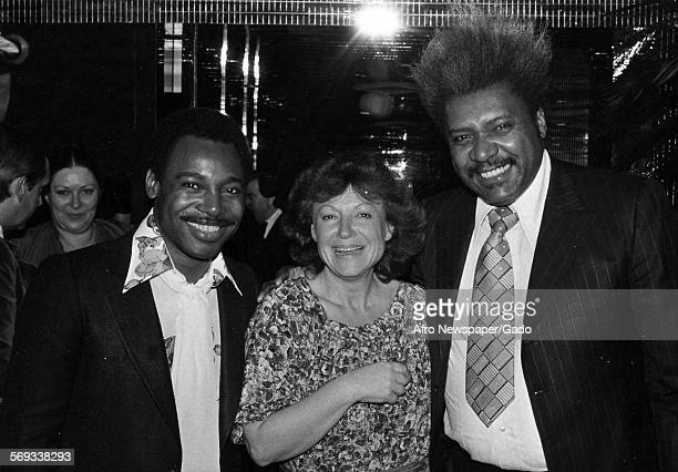 Don King and George Benson 1981