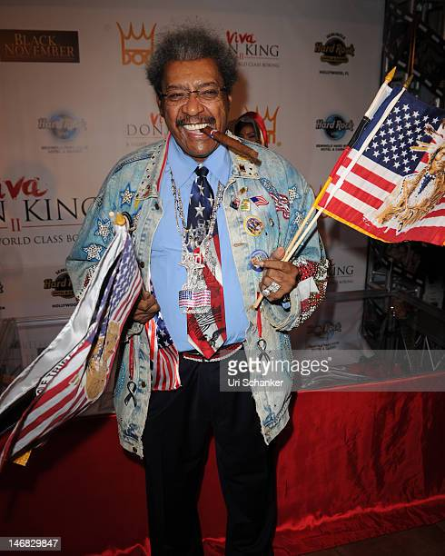 Don King attends Don King Tribute at Seminole Hard Rock Hotel on June 22 2012 in Hollywood Florida