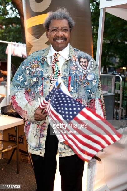 Don King attends the 2011 EPIX Movie FreeforAll screening of 'Raging Bull' inTompkins Square Park on June 30 2011 in New York City