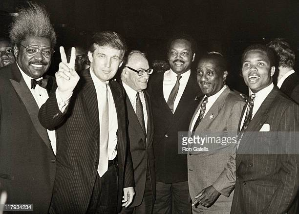 Don King Donald Trump Malcolm Forbes Jesse Jackson John H Johnson and guest