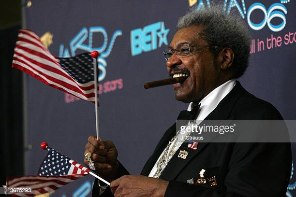 Don King during 2006 BET Awards Press Room at The Shrine in Los Angeles California United States