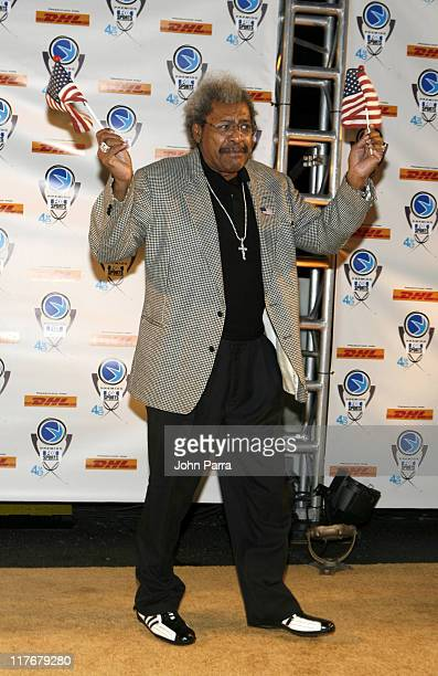 Don King during 4th Annual Premios Fox Sports Awards Arrivals at Jackie Gleason Theater for the Performing Arts in South Beach Florida United States