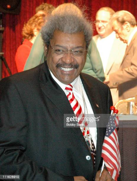 Don King during Friars Club Roast Of Jerry Lewis June 9 2006 at New York Hilton in New York New York United States