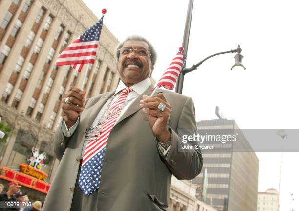 Don King during Jim Hill Honored With a Star on the Hollywood Walk of Fame in Los Angeles California United States
