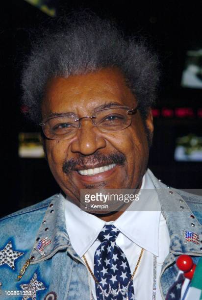 Don King during Oscar De La Hoya And Ricardo Mayorga Press Conference For World Super Welterweight Championship March 2 2006 at ESPN Zone Times...