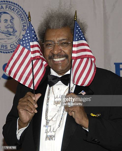 Don King during The Friars Club Roast of Don King at The New York Hilton in New York City, New York, United States.