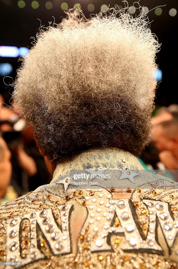 Don King stands in the ring after Bermane Stiverne defeated Chris Arreola in their WBC Heavyweight Championship match at Galen Center on May 10, 2014 in Los Angeles, California. Stiverne won in a six round technical knockout.