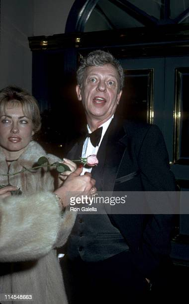 Don Knotts and wife during Bob Newhart's celebration of his 20th anniversary in show business at Jimmy's Restaurant in Beverly Hills California...