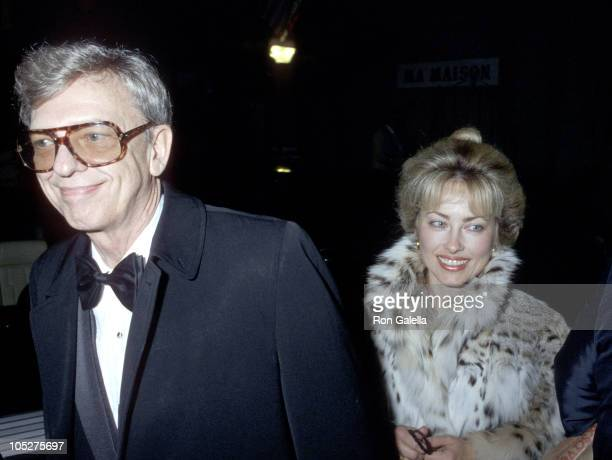 Don Knotts and wife during Dynasty Wrap Party at Beverly Wilshire Hotel in Beverly Hills California United States