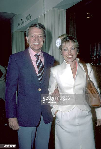 Don Knotts and wife during Wrap Party for 'Three's Company' at Beverly Hills Hotel in Beverly Hills CA United States