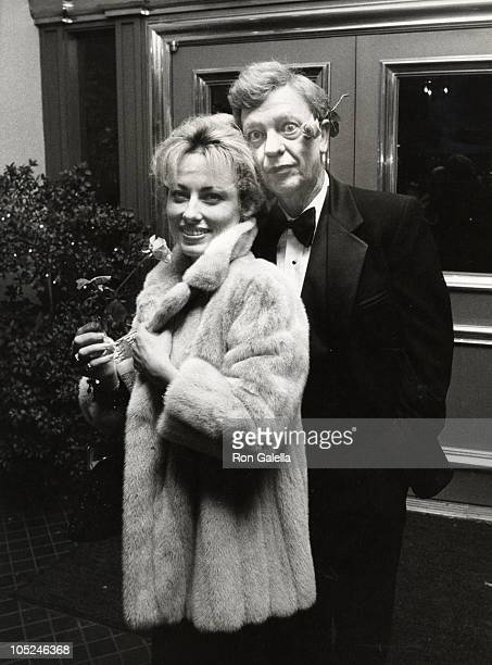 Don Knotts Wife during Bob Newhart's celebration of his 20th anniversary in show business at Jimmy's Restaurant in Beverly Hills California United...