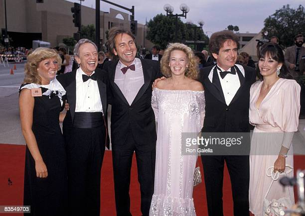 Don Knotts with wife John Ritter with wife Nancy and Richard Kline with wife