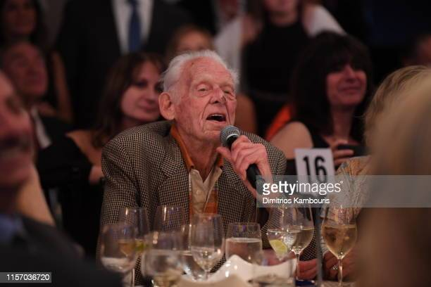Don Larsen attends David Cone's 20th Anniversary of the Perfect Game on June 19 2019 in New York City
