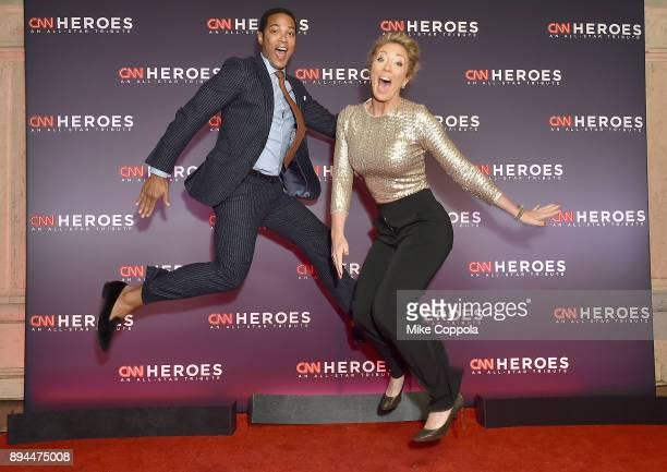 Don Lemon and Brooke Baldwin attend CNN Heroes 2017 at the American Museum of Natural History on December 17 2017 in New York City 27437_016