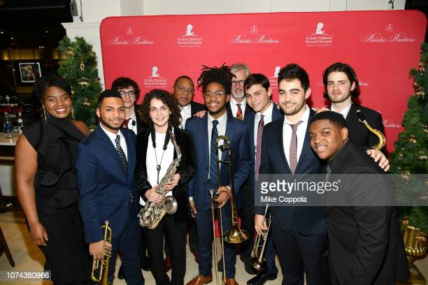 Don Lemon and Claudio Del Vecchio attend the Brooks Brothers And St Jude Children's Research Hospital Annual Holiday Celebration In New York City on...
