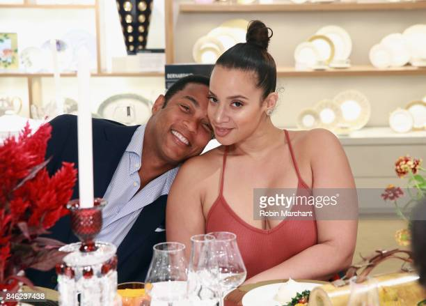 Don Lemon and Dascha Polanco attend SiriusXM Host Bevy Smith Hosts A Radio Special Celebrating The Anniversary Of Andy Cohen's SiriusXM Channel Radio...