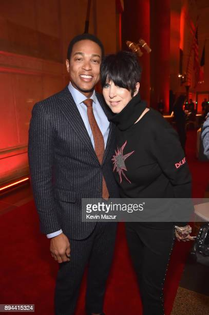 Don Lemon and Diane Warren attend CNN Heroes 2017 at the American Museum of Natural History on December 17 2017 in New York City 27437_015