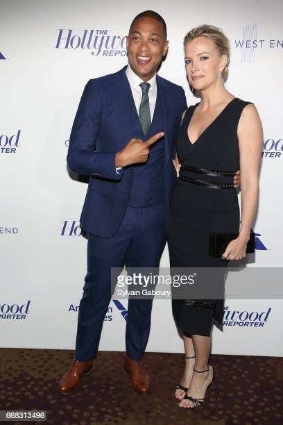 Don Lemon and Megyn Kelly attend The Hollywood Reporter's 35 Most Powerful People In Media 2017 on April 13 2017 in New York City
