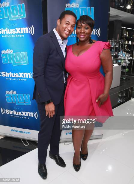 Don Lemon and SiriusXM Host Bevy Smith attend A Radio Special Celebrating The Anniversary Of Andy Cohen's SiriusXM Channel Radio Andy at...