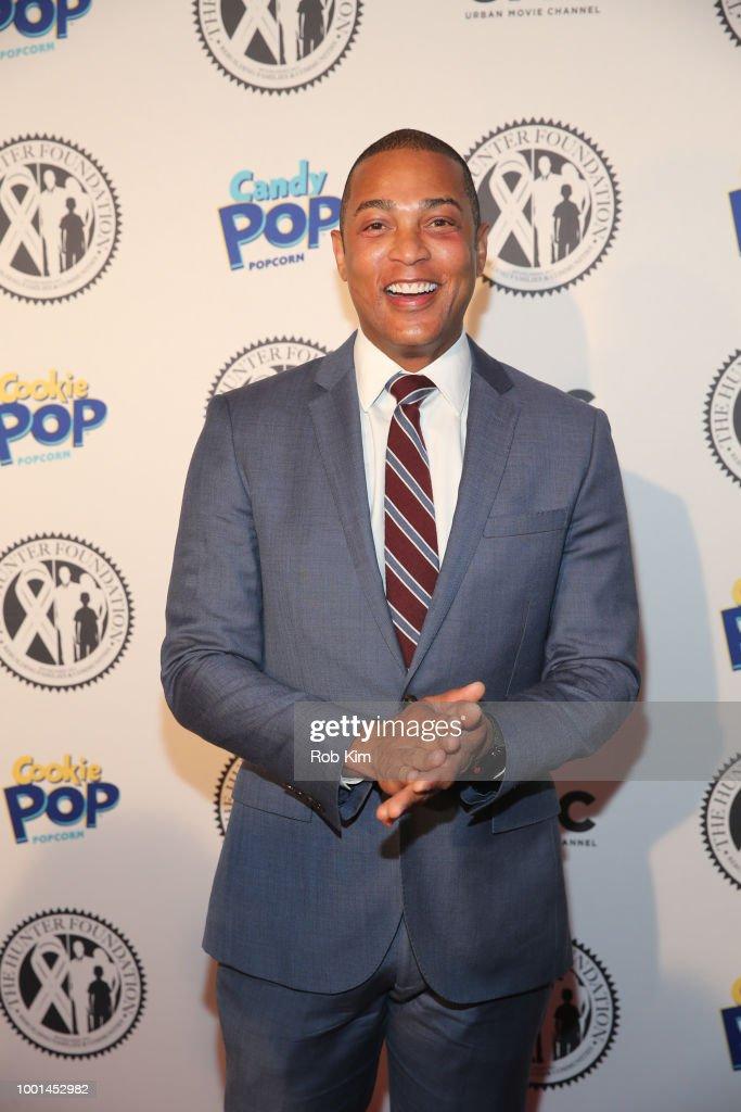 Don Lemon attends 2018 The Hunter Foundation Gala at Hammerstein Ballroom on July 18, 2018 in New York City.