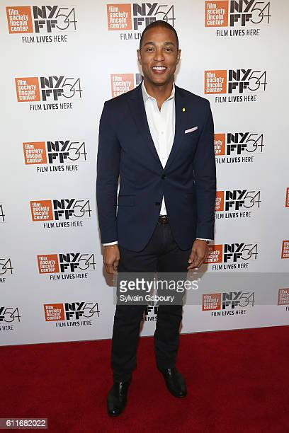 Don Lemon attends 54th New York Film Festival Opening Night Gala Presentation and World Premiere of '13TH' at Alice Tully Hall on September 30 2016...