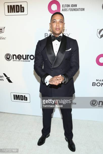 Don Lemon attends IMDb LIVE At The Elton John AIDS Foundation Academy Awards® Viewing Party on February 24 2019 in Los Angeles California