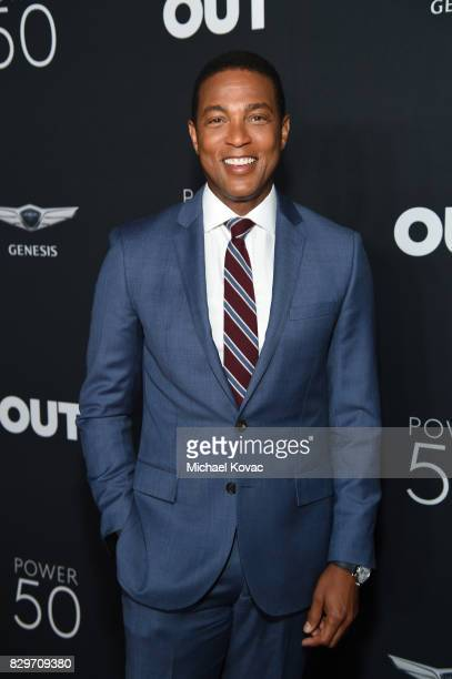Don Lemon attends OUT Magazine's OUT POWER 50 gala and award presentation presented by Genesis on August 10 2017 in Los Angeles California