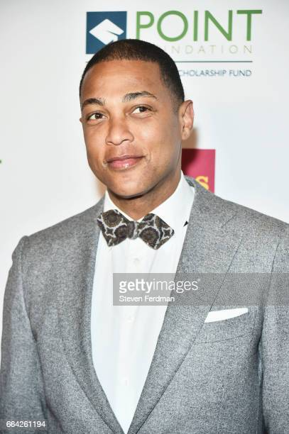 Don Lemon attends Point Honors Gala at The Plaza Hotel on April 3 2017 in New York City