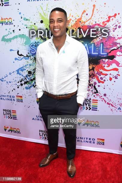 Don Lemon attends Pride Live's 2019 Stonewall Day on June 28 2019 in New York City