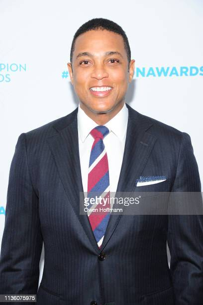 Don Lemon attends Safe Horizon's Champion Awards at The Ziegfeld Ballroom on April 9 2019 in New York City