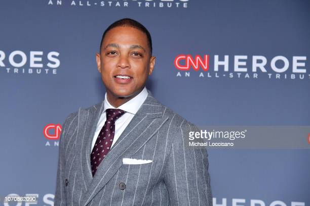 Don Lemon attends the 12th Annual CNN Heroes An AllStar Tribute at American Museum of Natural History on December 9 2018 in New York City