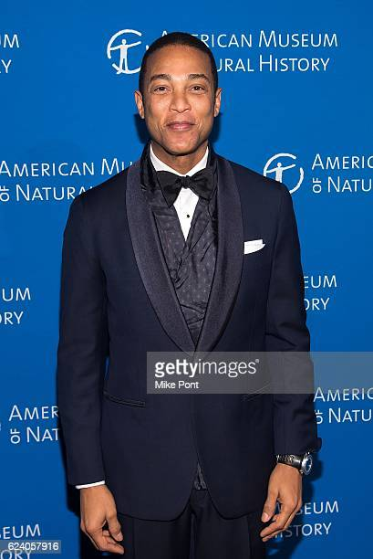 Don Lemon attends the 2016 American Museum Of Natural History Museum Gala at American Museum of Natural History on November 17 2016 in New York City