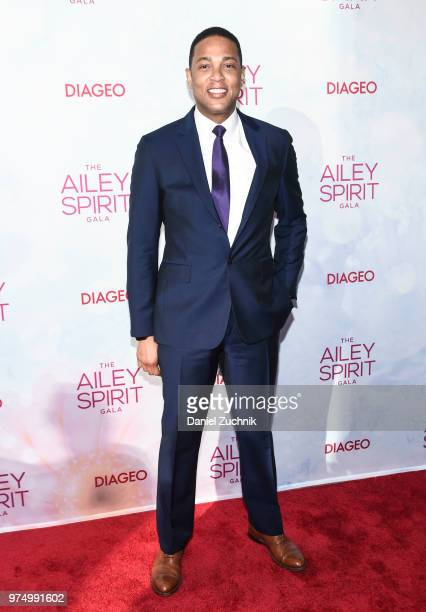 Don Lemon attends the 2018 Ailey Spirit Gala Benefit at David H Koch Theater at Lincoln Center on June 14 2018 in New York City