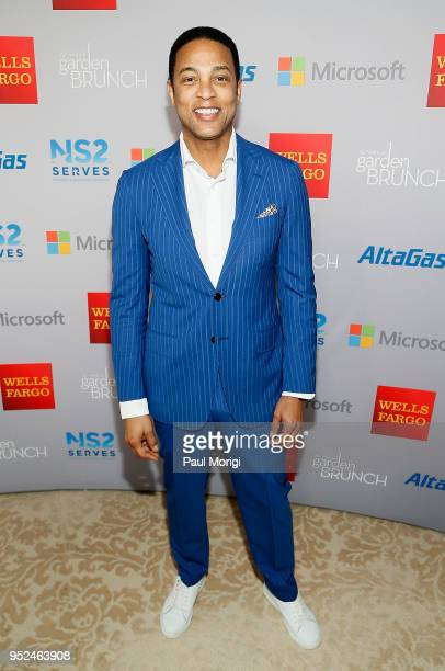 Don Lemon attends the 25th annual White House Correspondents' Garden Brunch at BeallWashington House on April 28 2018 in Washington DC