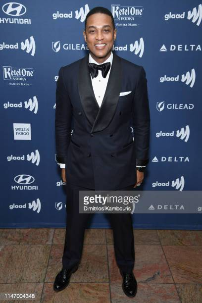 Don Lemon attends the 30th Annual GLAAD Media Awards New York at New York Hilton Midtown on May 04 2019 in New York City