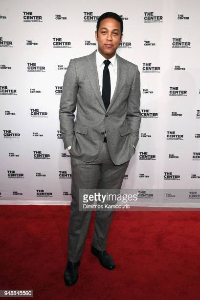 Don Lemon attends The Center Dinner 2018 at Cipriani Wall Street on April 19 2018 in New York City
