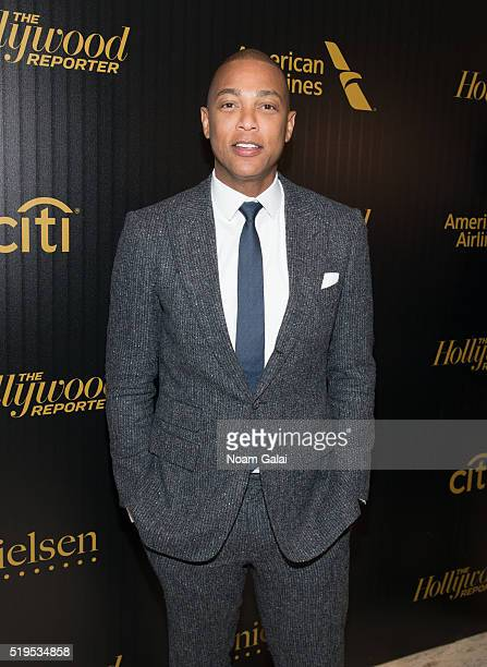 Don Lemon attends The Hollywood Reporter's 2016 35 Most Powerful People in Media at Four Seasons Restaurant on April 6 2016 in New York City