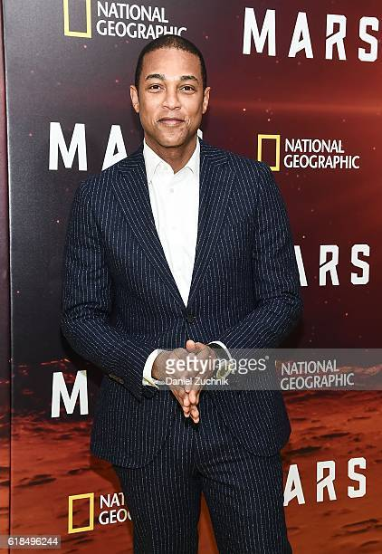 Don Lemon attends the National Geographic Channel 'MARS' New York Premiere at the School of Visual Arts on October 26 2016 in New York City