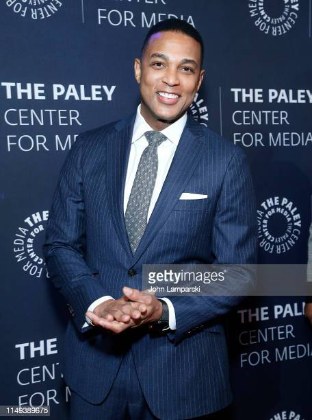 Don Lemon attends The Paley Honors A Gala Tribute To LGBTQ at The Ziegfeld Ballroom on May 15 2019 in New York City