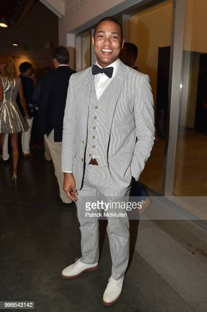 Don Lemon attends the Parrish Art Museum Midsummer Party 2018 at Parrish Art Museum on July 14 2018 in Water Mill New York