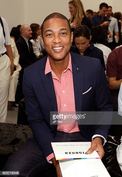 Don Lemon attends the Proenza Schouler fashion show during New York Fashion Week on September 12 2016 in New York City