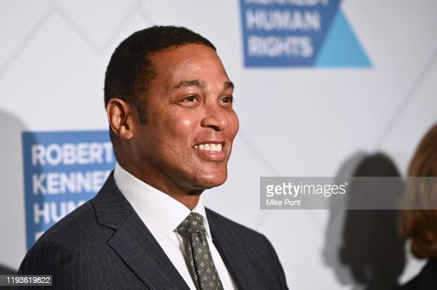 Don Lemon attends the Robert F Kennedy Human Rights Hosts 2019 Ripple Of Hope Gala Auction In NYC on December 12 2019 in New York City
