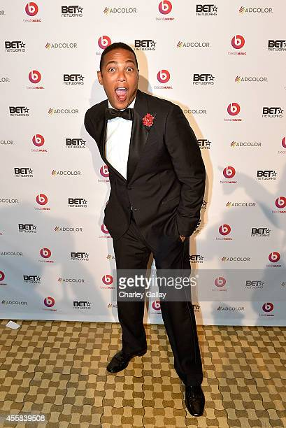 Don Lemon host CNN attends the 2014 ADCOLOR Awards After Party Sponsored By BET Networks And Beats Music at The Beverly Hilton Hotel on September 20...