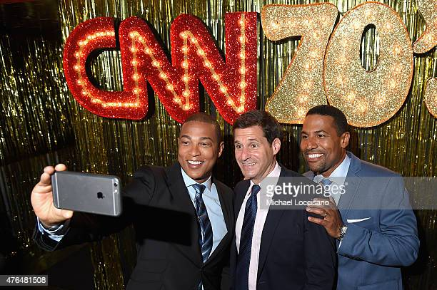 Don Lemon John Berman and Joey Jackson attend the CNN The Seventies Launch Party at Marquee on June 9 2015 in New York City 25520_215JPG