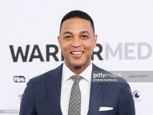 Don Lemon of CNN Tonight with Don Lemon attends the WarnerMedia Upfront 2019 arrivals on the red carpet at The Theater at Madison Square Garden on...